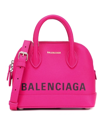 Balenciaga - Ville XS leather tote - mytheresa.com