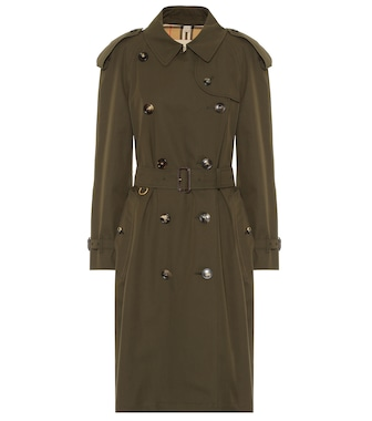 Burberry - The Westminster cotton trench coat - mytheresa.com