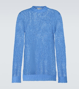 Jil Sander - Linen knitted sweater - mytheresa.com