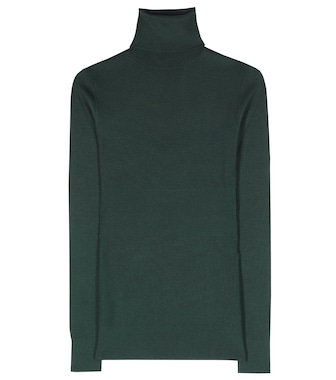 Dolce & Gabbana - Cashmere and silk turtleneck sweater - mytheresa.com