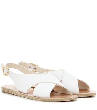 Ancient Greek Sandals - Maria leather sandals - mytheresa.com