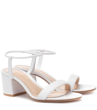 Gianvito Rossi - Nikki 60 leather sandals - mytheresa.com