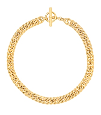 Tilly Sveaas - Small Curb Chain 18kt gold-plated sterling silver necklace - mytheresa.com