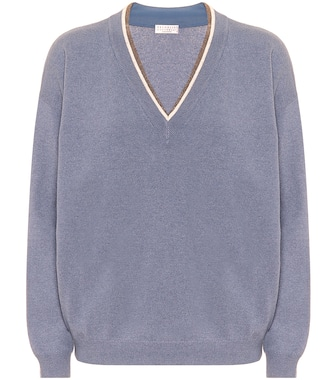 Brunello Cucinelli - Wool, cashmere and silk sweater - mytheresa.com