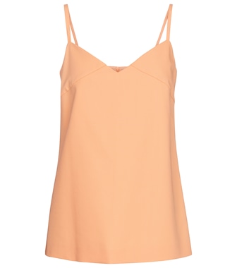Max Mara - Austria cotton and gabardine camisole - mytheresa.com