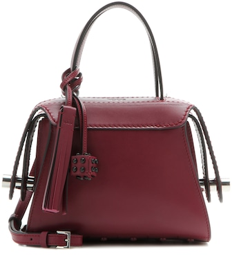 Tod's - Twist Mini leather shoulder bag - mytheresa.com