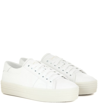 Saint Laurent - Signature Court Classic SL/39 platform sneakers - mytheresa.com