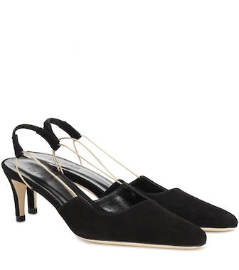 By Far - Gabriella suede pumps - mytheresa.com