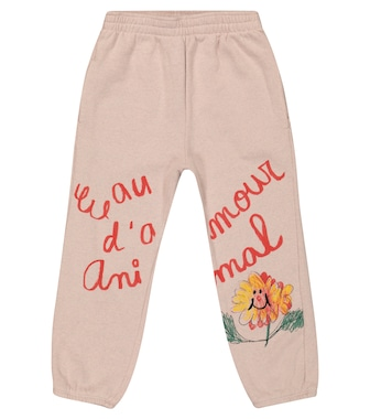 The Animals Observatory - Eau D'amour cotton trackpants - mytheresa.com
