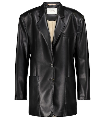 Nanushka - Evan faux leather blazer - mytheresa.com