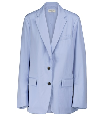 Dries Van Noten - Cotton poplin blazer - mytheresa.com