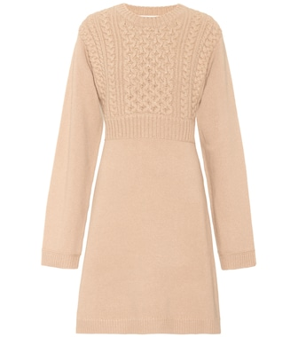 Chloé - Exclusive to mytheresa.com – wool and cashmere dress - mytheresa.com