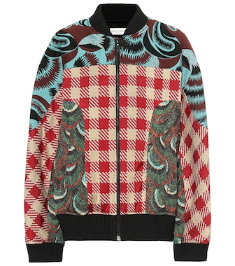 Dries Van Noten - Jacquard bomber jacket - mytheresa.com