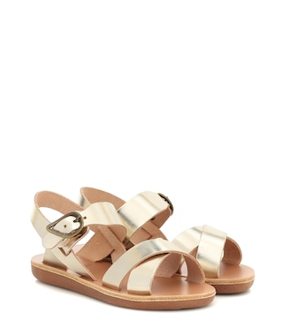 Ancient Greek Sandals Kids - Little Socrates leather sandals - mytheresa.com