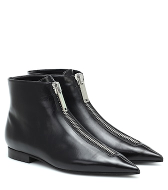 Stella McCartney - Faux leather ankle boots - mytheresa.com