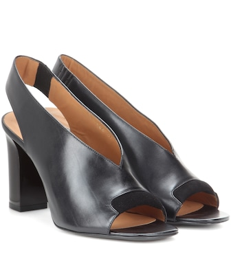 Acne Studios - Abbie leather pumps - mytheresa.com