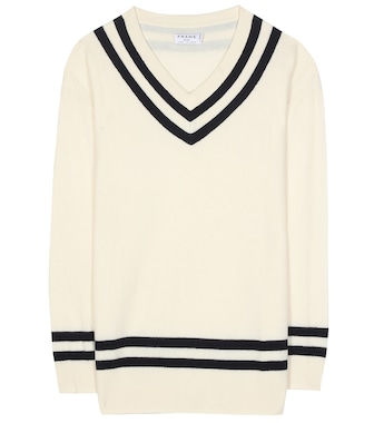 Frame - Varsity wool and cashmere sweater - mytheresa.com