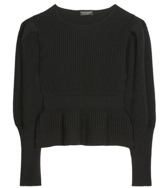 Burberry - Peplum sweater - mytheresa.com