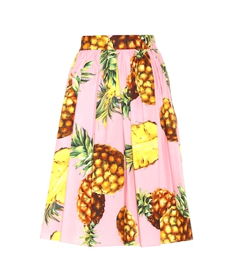 Dolce & Gabbana - Cotton skirt - mytheresa.com
