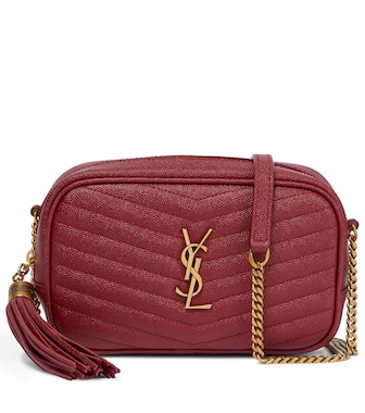 Saint Laurent - Lou Camera Mini leather shoulder bag - mytheresa.com