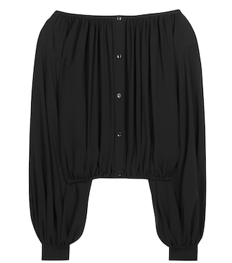 Saint Laurent - Silk blouse - mytheresa.com