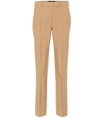 Etro - Stretch-wool straight-leg pants - mytheresa.com