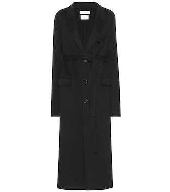 Bottega Veneta - Belted wool coat - mytheresa.com