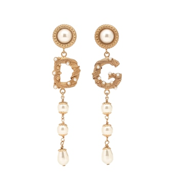 Dolce & Gabbana - Clip-on drop earrings - mytheresa.com