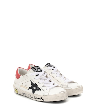 Golden Goose Kids - حذاء سنيكرز من الجلد Superstar - mytheresa.com