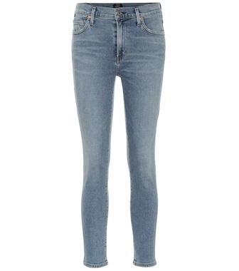 Citizens of Humanity - Jeans skinny Rocket Crop a vita alta - mytheresa.com