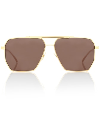 Bottega Veneta - Aviator sunglasses - mytheresa.com