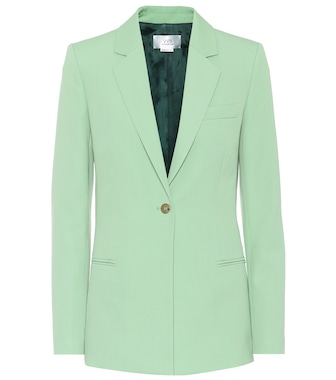 Victoria Victoria Beckham - Wool-blend single-breasted blazer - mytheresa.com