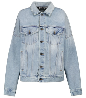 Palm Angels - Logo denim jacket - mytheresa.com