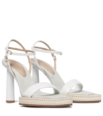 Jacquemus - Les Sandales Novio leather sandals - mytheresa.com