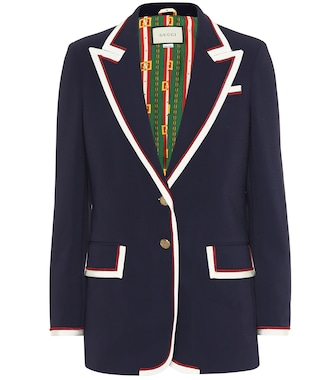 Gucci - Single-breasted blazer - mytheresa.com