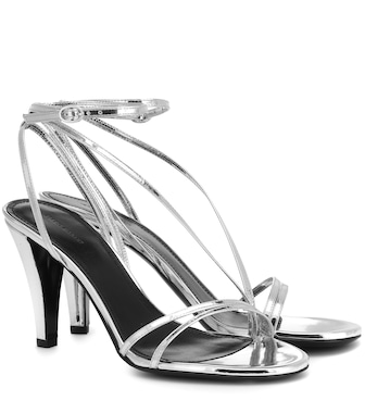 Isabel Marant - Arora metallic leather sandals - mytheresa.com