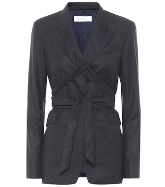 Gabriela Hearst - Exclusive to Mytheresa – Nutter wool and silk blazer - mytheresa.com