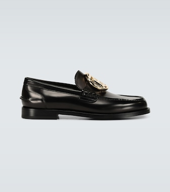 Burberry - Bedmoore loafers with TB buckle - mytheresa.com
