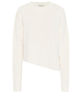 Bottega Veneta - Asymmetric sweater - mytheresa.com