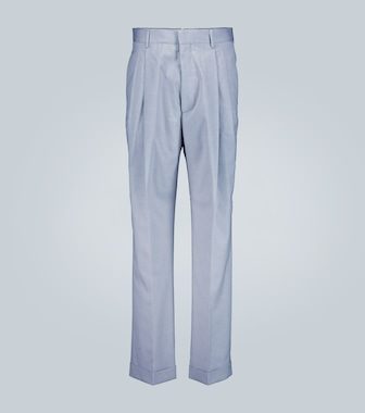 Marni - Pleated straight leg pants - mytheresa.com