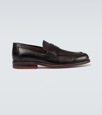 Loro Piana - LP City Walk leather mocassins - mytheresa.com