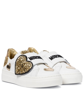 Moschino Kids  - Sneakers in pelle - mytheresa.com