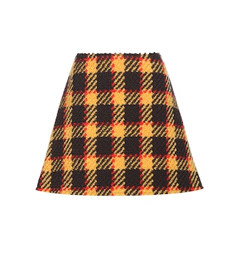 Marni - Wool and cotton miniskirt - mytheresa.com