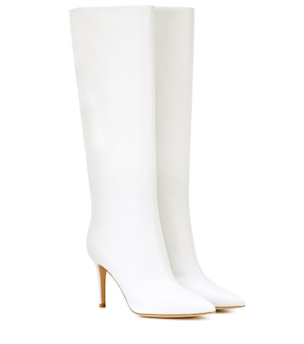 Gianvito Rossi - Suzan 85 leather boots - mytheresa.com