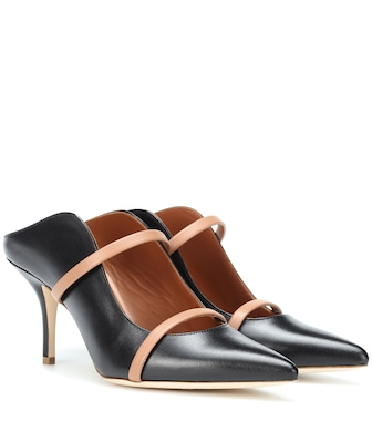 Malone Souliers - Maureen 70 leather mules - mytheresa.com