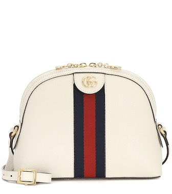 Gucci - Ophidia Small leather shoulder bag - mytheresa.com