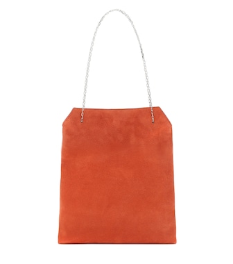 The Row - Exclusive to Mytheresa – Lunch Small suede tote - mytheresa.com