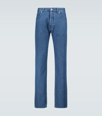 LOEWE - Slim-fit denim jeans - mytheresa.com