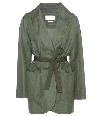 Isabel Marant, Étoile - Ilona cotton and linen coat - mytheresa.com