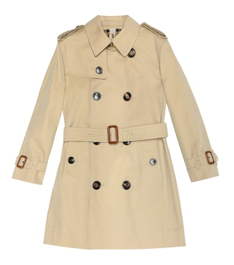 Burberry Kids - Cotton trench coat - mytheresa.com